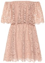 Valentino Floral lace minidress