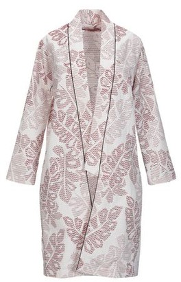 Rose' A Pois Overcoat