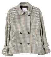 MANGO Double-breasted check jacket