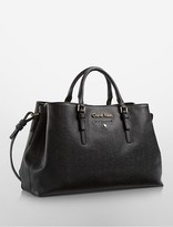 Calvin Klein Michaela Triple Compartment Satchel