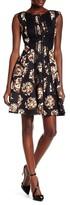 Taylor Floral Print A-Line Dress 8489M