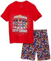 Intimo Power Rangers Hero Squad Short Pajama Set (Little Girls & Big Girls)