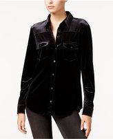 Sanctuary Rocker Velvet Shirt