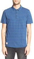 NATIVE YOUTH Men's Stripe Polo Shirt