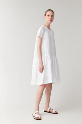 Cos Drawstring Organic Cotton Dress