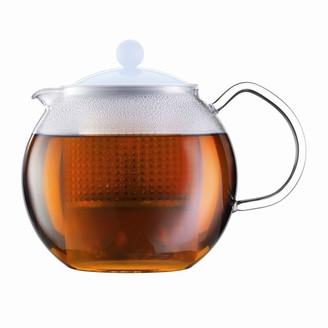Bodum Assam Tea Press Teapot Blue Moon 1l