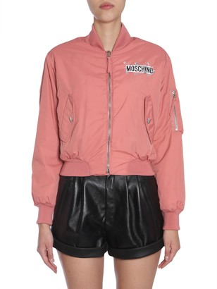 Moschino Cropped Bomber Jacket