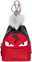 Fendi Red Mini Backpack Keychain