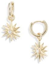 Kendra Scott Starburst Huggie Hoop Earrings