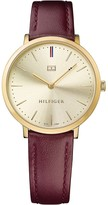 Tommy Hilfiger Slim Gold Dress Watch