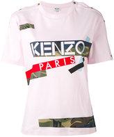 Kenzo Broken Camo T-shirt - women - Cotton - S