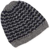 DeSanto Men's Two-Tone Beanie