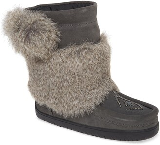 Manitobah Mukluks Faux Fur & Waterproof Snow Boot