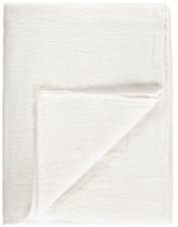LINGE PARTICULIER Honeycomb Waffle Linen Bath Towel