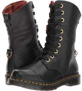 Dr. Martens Aimilita 9-Eye Toe Cap Boot Women's Lace-up Boots