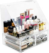 SORBUS Sorbus Makeup Storage Organizer - 4 Drawers and Slanted Lid Top