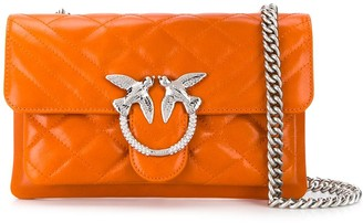 Pinko Love quilted crossbody bag