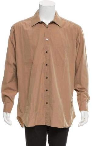 Burberry Striped Button-Up Shirt
