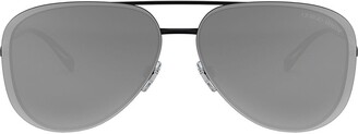 Giorgio Armani Aviator Mirrored Sunglasses
