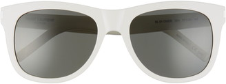 Saint Laurent 57mm Square Sunglasses