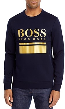 HUGO BOSS Salbo Logo Performance Sweatshirt