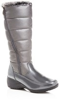 Khombu Abigail Metallic Quilted Tall Cold Weather Boots