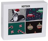 Hot Sox Holiday Socks - Gift Box of 4