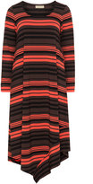Isolde Roth Plus Size Midi striped dress