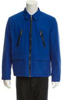 Michael Kors Zip-Up Windbreaker Jacket