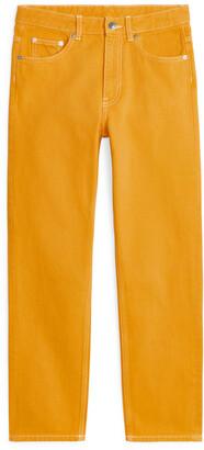 Arket REGULAR Overdyed Jeans