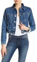 Hudson Garrison Cropped Jean Jacket