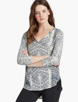 Lucky Brand Printed Top