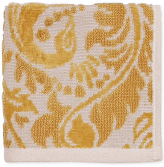 "CHF Peacock Cotton 12"" x 12"" Wash Cloth Bedding"