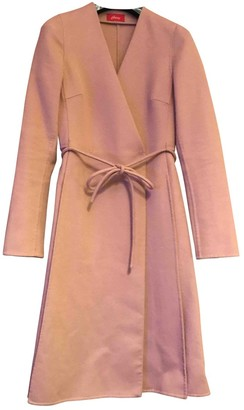 Brioni \N Camel Wool Coat for Women Vintage