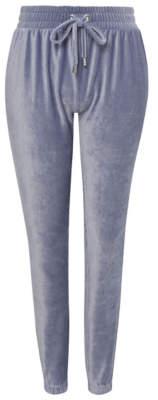George Blue Velour Loungewear Bottoms