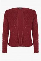 Select Fashion Fashion Womens Red Popcorn Jacket - size 6
