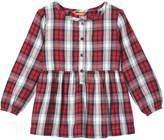 Joe Fresh Toddler Girls' Flannel Shirt, Carmine Red (Size 2)