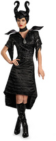 Disguise Black Maleficent Glam Gown Costume Set - Adult
