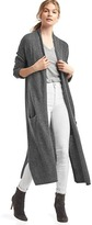 Gap Cozy wool-blend duster cardigan