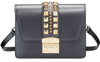 Mario Valentino Valentino By Benedicte Golden Stud Crossbody Bag