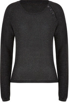 Paul & Joe Sister Cotton Jake Pullover in Anthracite