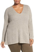 Nic+Zoe Plus Size Women's Everyday Mix Knit Top