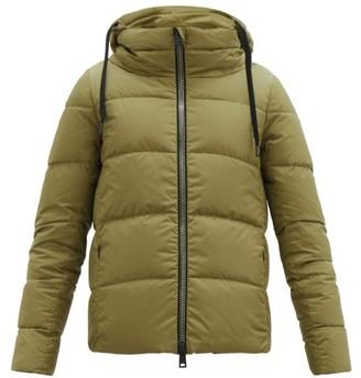 Herno Funnel-neck Down Jacket - Khaki
