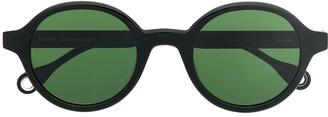 Études Bakayoko round-frame sunglasses
