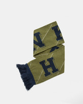 Han Kjobenhavn Scarf KJBH (Navy   Army Green   Stripe)