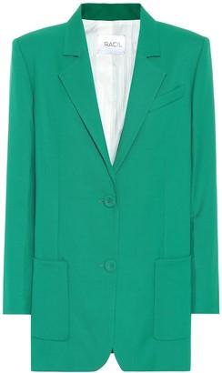 Racil Wool single-breasted blazer