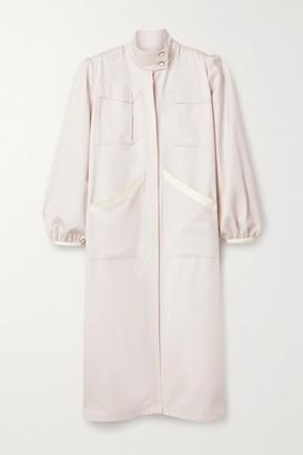 Johanna Ortiz Net Sustain Extra Ornamental Wool Dress - Ecru
