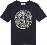 Stone Island Logo cotton t-shirt 4-14 years