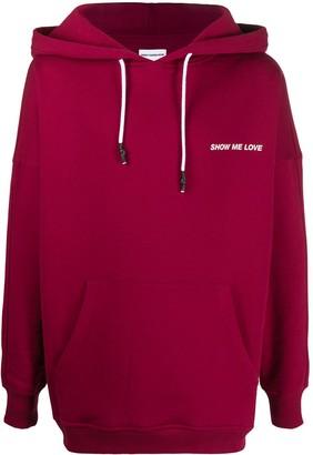 Honey Fucking Dijon Show Me Love printed hoodie
