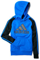 adidas Boys 8-20) Logo Embroidered Tech Fleece Hoodie